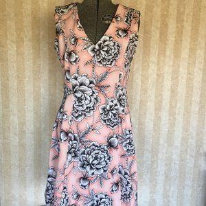 Worthington Floral Print Dress